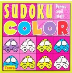 Sudoku color pentru copii isteti roz