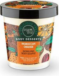 Sufleu delicios Organic Shop Body Desserts pentru corp Moroccan Orange, 450 ml Lotiuni, Spray-uri, Creme