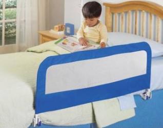 Protectie Pliabila Pentru Pat Blue  Decoratiuni camera