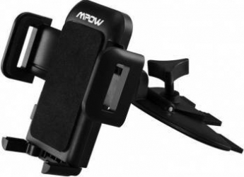Suport auto Mpow Grip Pro 2 Easy CD Slot Black