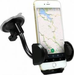 Suport Auto SBS TE0UCH20W, Universal, pentru telefoane pana la 5 inch Negru Accesorii telefoane mobile