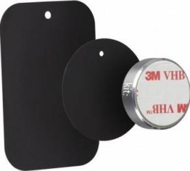 Suport auto telefon Kit universal magnetic prindere de bord Argintiu