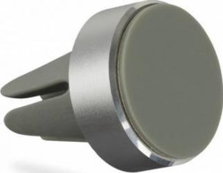 Suport auto telefon magnetic Kit universal Argintiu