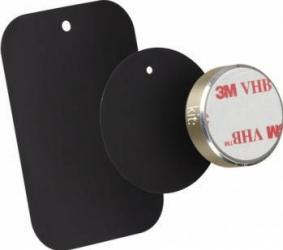 Suport auto telefon magnetic Kit universal Auriu