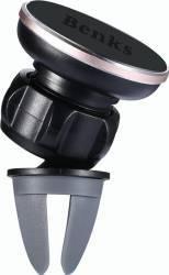 Suport Auto Universal Benks Pentru Telefoane Magnetic Rotativ 360 Air Vent