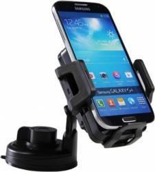 Suport auto universal cu incarcare Wireless Qi Charging Vehicle Dock, negru Accesorii Diverse Telefoane
