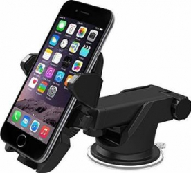 Suport auto universal Long Neck One-Touch, negru Accesorii Diverse Telefoane