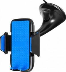 Suport auto universal Serioux cu prindere pe parbriz Albastru Car Kit-uri