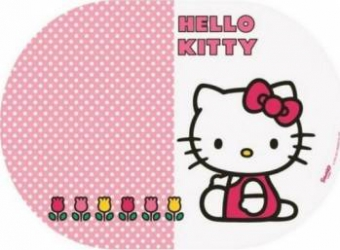 Suport farfurii oval BBS Hello Kitty 35x25cm