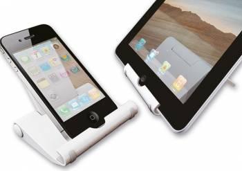 Suport NewStar pentru Smartphone si Tableta Alb Accesorii Diverse Tablete