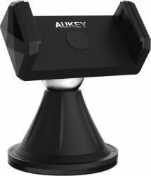 Suport pentru telefon Aukey HD-C18 Rotire 360 de grade Negru Car Kit-uri