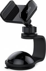 pret preturi Suport pentru telefon Aukey HD-C30 rotire 360 de grade Negru