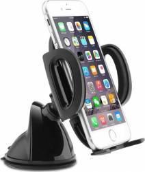 Suport pentru telefon Aukey HD-C6 Rotire 360 de grade Negru Car Kit-uri
