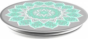 Suport Popsockets Universal Stand Adeziv Peace Tiffany Mandala Verde Accesorii Diverse Telefoane