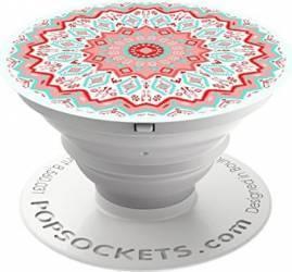 Suport Popsockets Universal Stand Adeziv Red Aztec Mandala Multicolor