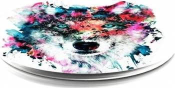 Suport Popsockets Universal Stand Adeziv Wolf Multicolor Accesorii Diverse Telefoane