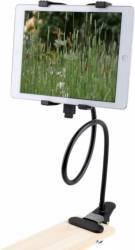 Suport tableta OEM  pentru birou cu brat flexibil de 60 cm Negru Accesorii Diverse Tablete