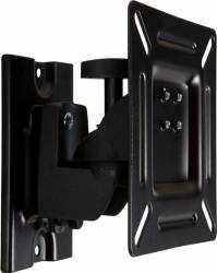 Suport TV 4World 07447-BLK 15 - 22 incl+rotire max. 15kg Negru