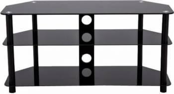 Suport TV ART T-41 tip masa 30-55inchi max. 40kg Negru suporturi tv