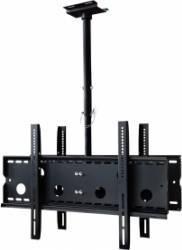 Suport TV dublu ART AR-21D 30-65inchi VESA 300-600 max. 2x 60kg Negru Suporturi TV