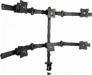 Suport TV/Monitor SBOX LCD-352/6 13 - 27 inch Negru Suporturi TV
