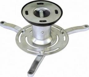 Suport videoproiector pentru tavan Sopar Medusa 130mm Argintiu