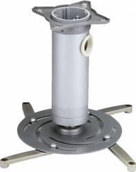 Suport videoproiector pentru tavan Sopar Superia Argintiu 220mm Accesorii Videoproiectoare