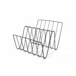 Suport Metalic Reviste Dimensiune 37 X 30 X 27 5 Cm Decoratiuni Interioare si Exterioare