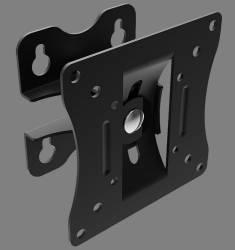 Suport TVmonitor perete Lindy 40875 diagonale intre 10-24 25-61cm max. 15 kg functie de inclinare si rotire Suporturi TV