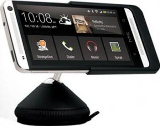 Supotrt Auto Cu Incarcator HTC One Mini