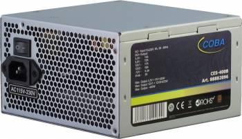 Sursa Inter-Tech Coba CES-400B 400W argintie Surse