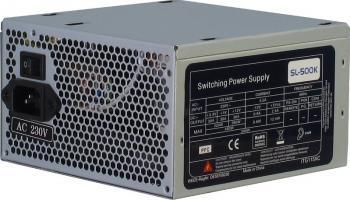 Sursa Inter-Tech SL-500K 500W Single Rail Bulk