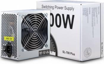 Sursa Inter-Tech SL-700 Plus 700W argintie Surse