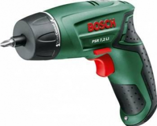 Surubelnita cu acumulator Bosch PSR 7.2 LI 7.2V