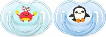 Suzeta Clasica Philips 0 - 6 luni Aqua-Blue Suzete si accesorii