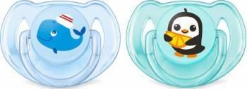 Suzeta Clasica Philips 6 - 18 luni Blue-Aqua Suzete si accesorii