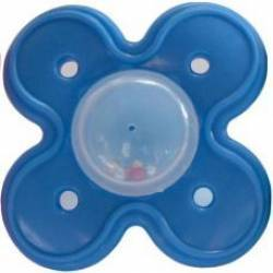 Suzeta dentitie cu bilute 3L+ Albastru Suzete si accesorii