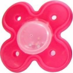 Suzeta dentitie cu bilute 3L+ Rosu Suzete si accesorii