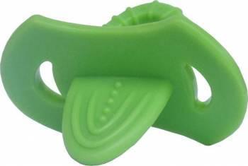 Suzeta dentitie moale 3L+ Verde Suzete si accesorii