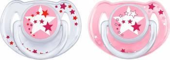 Suzete de noapte Philips Avent SCF176 6-18 luni Roz Suzete si accesorii