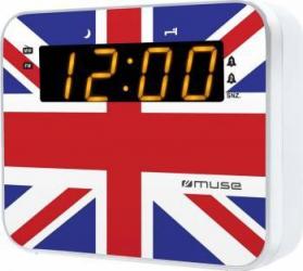 Radio cu ceas Muse M-165 Dual Alarm LED UK Ceasuri si Radio cu ceas