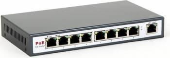 Switch 8level PoE 9 Porturi Fast Ethernet cu 8 Porturi PoE Switch uri