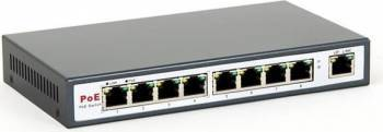 Switch 8level PoE 9 Porturi Fast Ethernet cu 4 Porturi PoE Switch uri