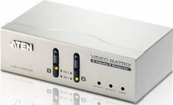 Switch ATEN Video Matrix 2x2 VGA-Audio VS0202 Adaptoare TV