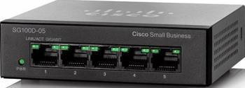 Switch Cisco Gigabit 5-Port SG110D-05 Switch uri