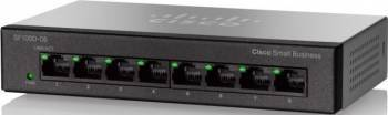 Switch Cisco SF110D-08HP 8-Port Fast Ethernet PoE Switch-uri