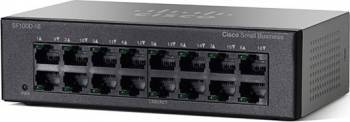 Switch Cisco SF110D-16 16-port Fast Ethernet Switch-uri
