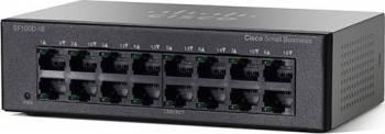 Switch Cisco SF110D-16 16-port Fast Ethernet Switch uri