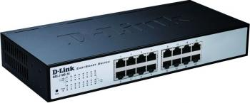 Switch D-Link 16 porturi Fast Ethernet DES-1100-16 Switch uri
