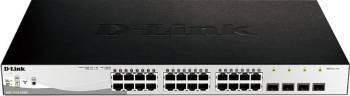 Switch D-Link 28-Port Gigabit PoE+ inclusiv 4-Porturi SFP Switch-uri